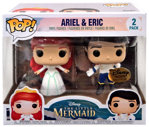 Funko The Little Mermaid POP! Disney Ariel & Eric Exclusive Vinyl Figure 2-Pack [Ever After Castle]