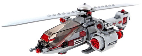 LEGO DC Cyborg's Helicopter Loose Vehicle [Loose]