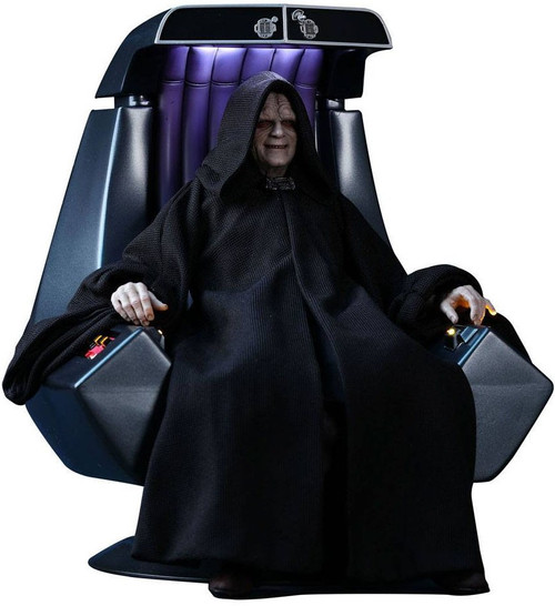 Star Wars Return of the Jedi Movie Masterpiece Emperor Palpatine Collectible Figure MMS468 [Deluxe Version]