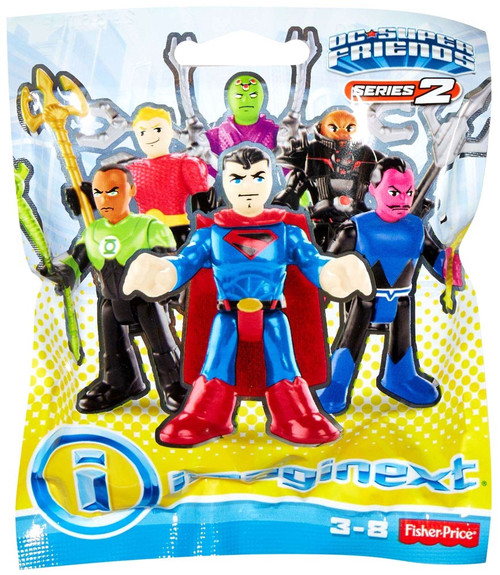 Fisher Price DC Super Friends Imaginext Series 2 Collectible Figure Mystery Pack