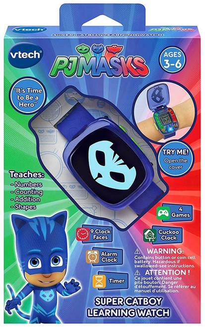 Disney Junior PJ Masks Super Catboy Learning Watch