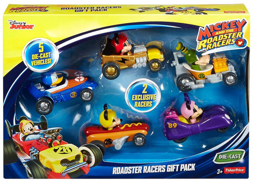 Fisher Price Disney Mickey & Roadster Racers Roadster Racers Gift Pack Diecast 5-Pack