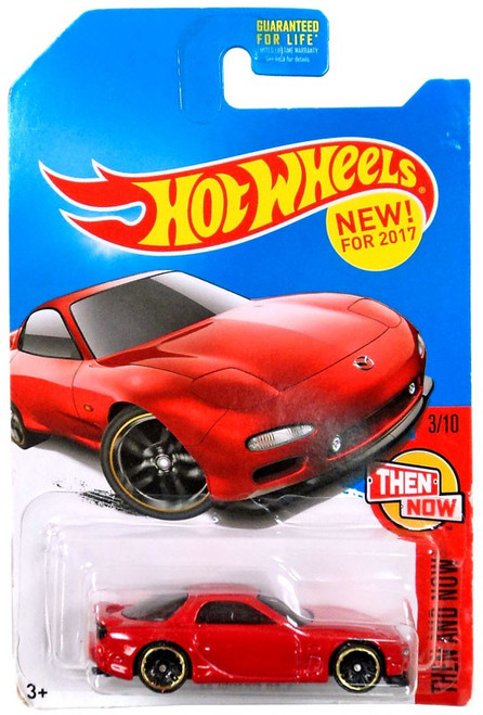 Hot Wheels Then and Now '95 Mazda RX-7 Exclusive Die-Cast Car [3/10]
