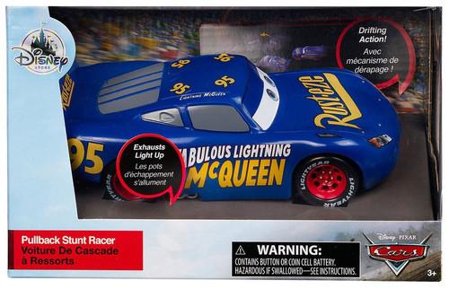 Disney / Pixar Cars Cars 3 Pullback Stunt Racer Fabulous Lightning McQueen Exclusive Vehicle