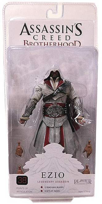 NECA Assassin's Creed Brotherhood Ezio Action Figure [Legendary Assassin, Damaged Package]