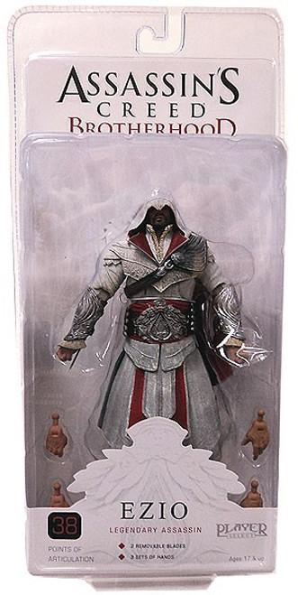 NECA Assassin's Creed Brotherhood Ezio Action Figure [Legendary Assassin, Damaged Package]