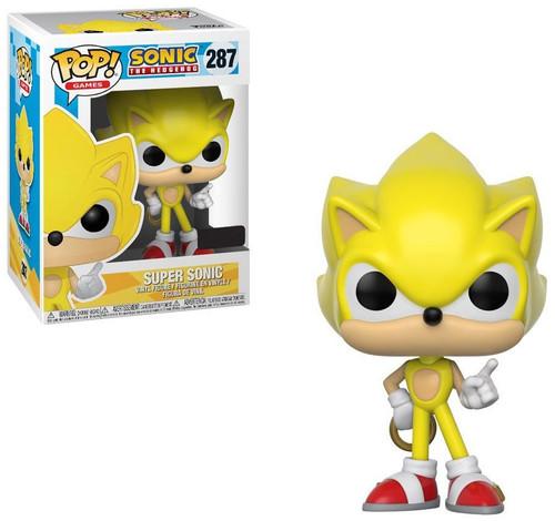 Funko Sonic The Hedgehog POP! Games Super Sonic Exclusive Vinyl Figure #287