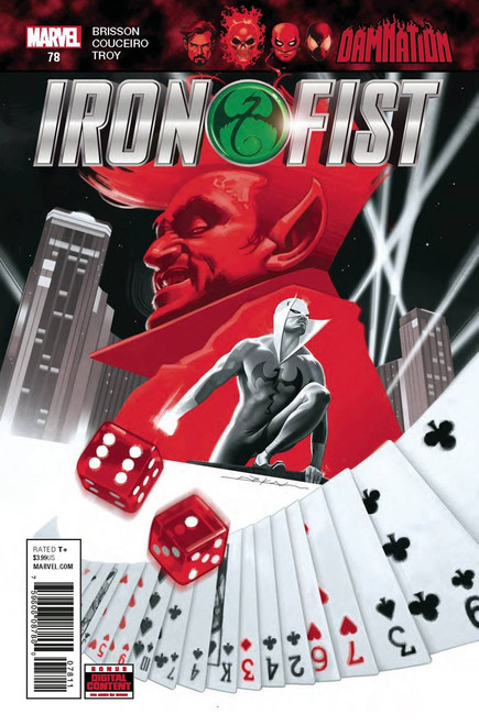 Marvel Comics Iron Fist #78 Comic Book