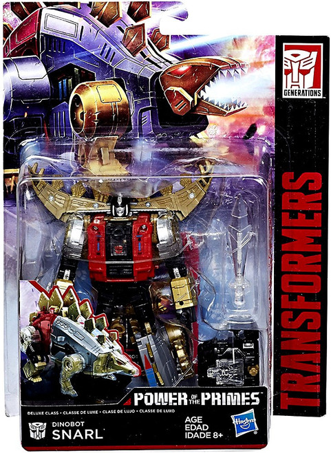 Transformers Generations Power of the Primes Dinobot Snarl Deluxe Action Figure
