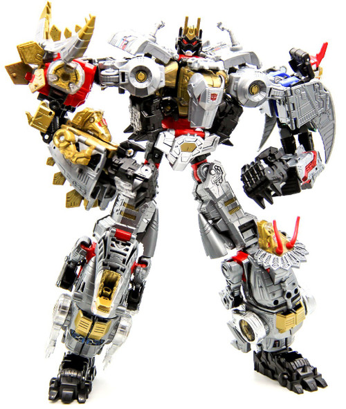 Transformers Generations Power of the Primes Volcanicus Action Figure [Grimlock, Sludge, Snarl, Swoop, Slug & Slash]