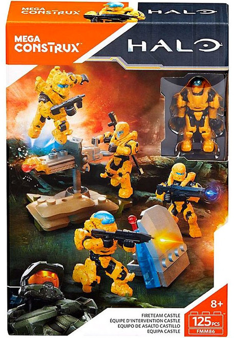 Halo Fireteam Castle Set