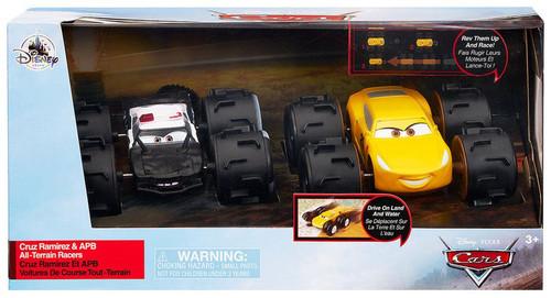 Disney / Pixar Cars Cars 3 All-Terrain Racers Cruz Ramirez & APB Exclusive Vehicle 2-Pack