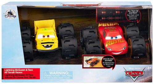 Disney / Pixar Cars Cars 3 All-Terrain Racers Lightning McQueen & Taco Exclusive Vehicle 2-Pack