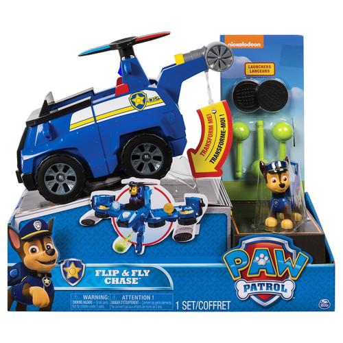 Paw Patrol Flip & Fly Chase Vehicle & Figure