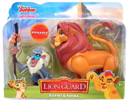 Disney The Lion Guard Rafiki & Simba Figure 2-Pack