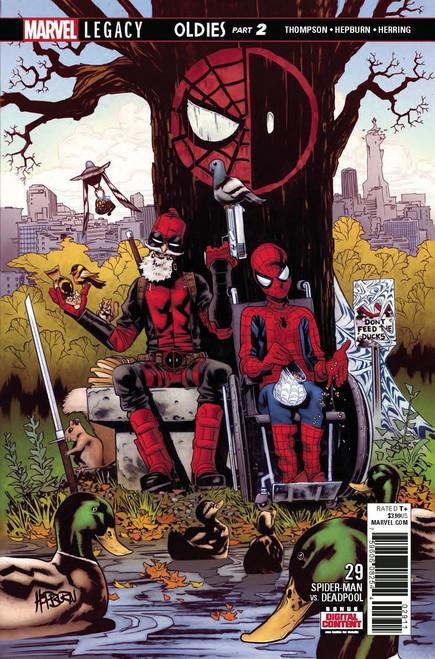 Marvel Spider-Man Deadpool #29 Comic Book