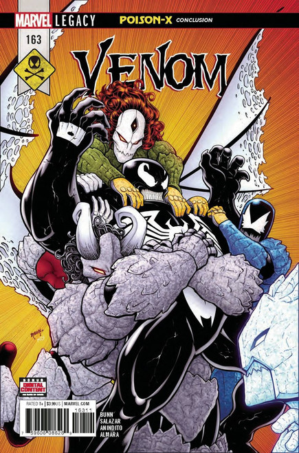 Marvel Comics Venom #163 Comic Book