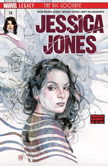 Marvel Comics Jessica Jones #18 Comic Book