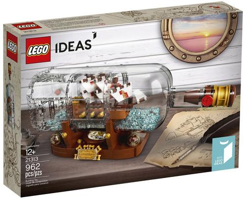 LEGO Ideas Ship in a Bottle Set #21313
