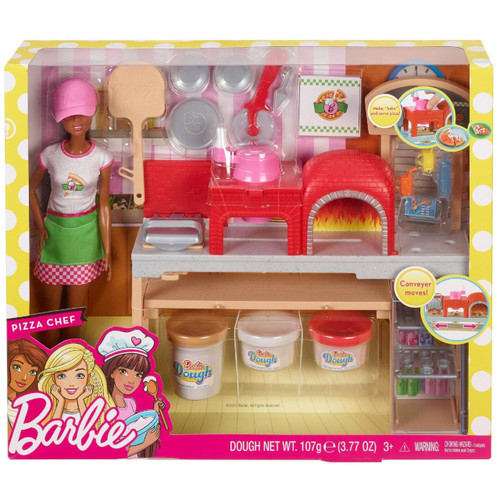 Barbie Pizza Chef Playset [Brunette Version]