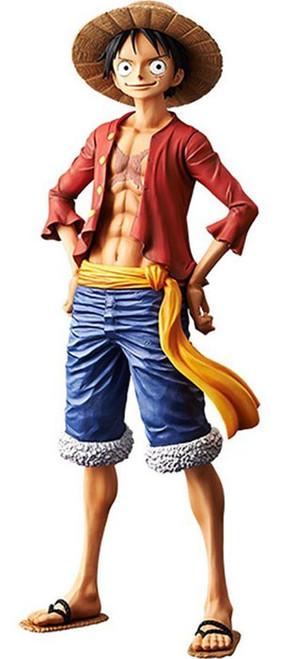 One Piece Grandista Grand Line Men Monkey D. Luffy 10.6-Inch Collectible PVC Figure