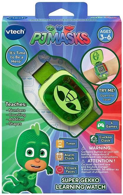 Disney Junior PJ Masks Super Gekko Learning Watch