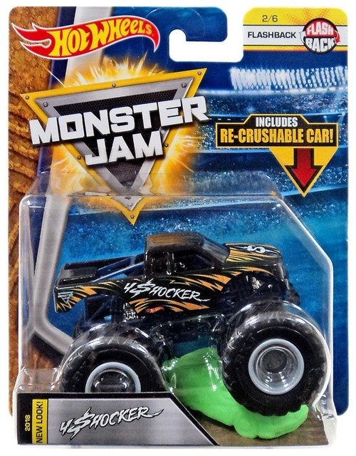 Hot Wheels Monster Jam 25 4 Shocker Diecast Car #2/6 [Flashback]