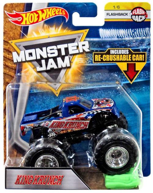 Hot Wheels Monster Jam 25 King Krunch Die-Cast Car #1/6 [Flashback, Crushable Car]