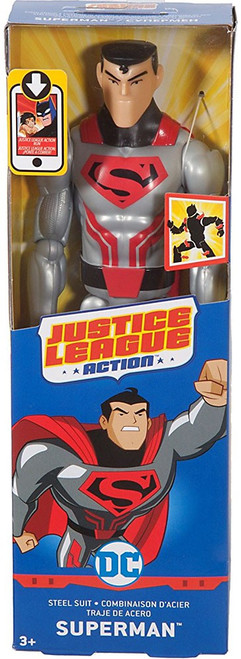 Justice League Action JLA Superman Action Figure [Steel Suit]