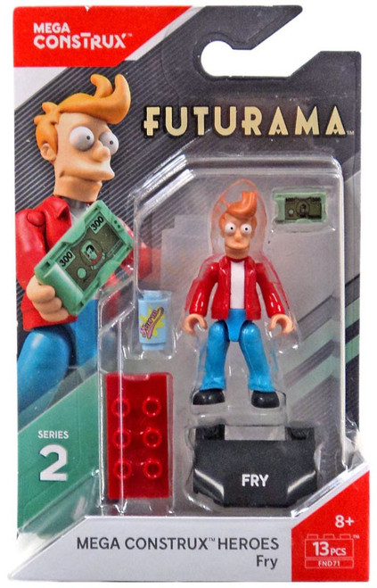 Futurama Heroes Series 2 Fry Mini Figure