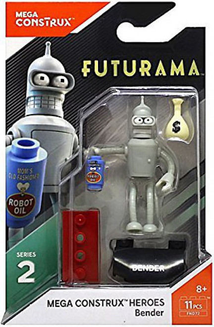 Futurama Heroes Series 2 Bender Mini Figure