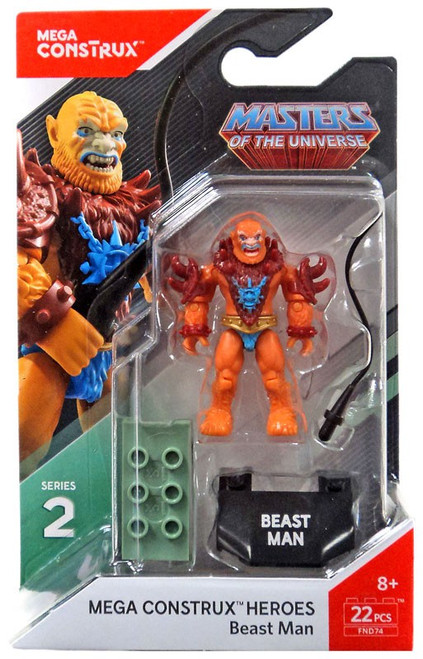 Mega Construx Masters of the Universe Heroes Series 2 Beast Man Mini Figure
