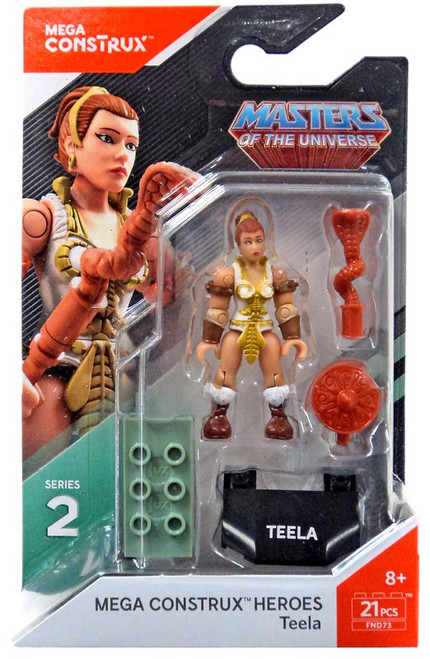 Mega Construx Masters of the Universe Heroes Series 2 Teela Mini Figure
