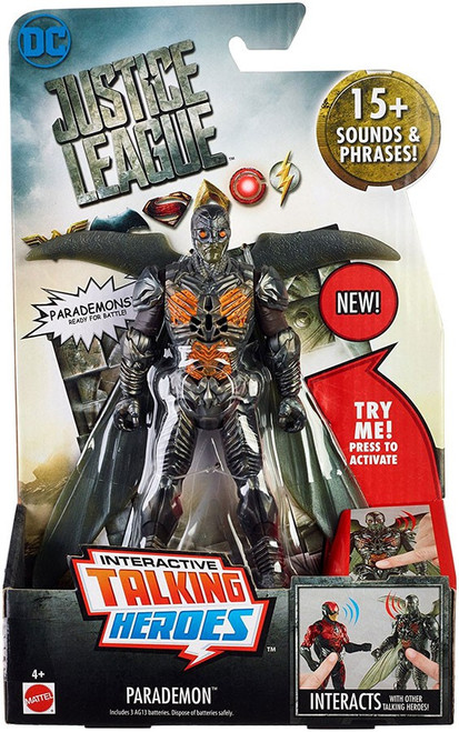 DC Justice League Movie Interactive Talking Heroes Parademon Deluxe Action Figure