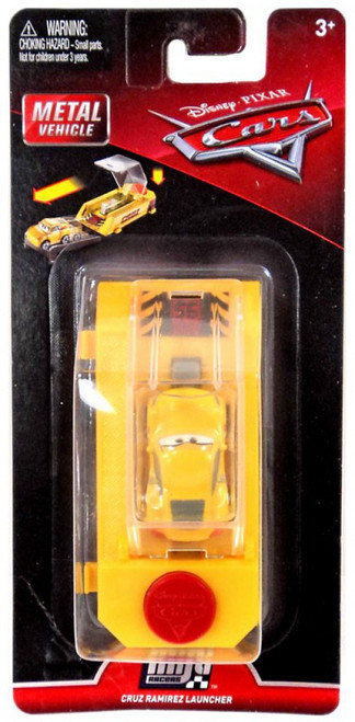 Disney / Pixar Cars Cars 3 Die Cast Mini Racers Cruz Ramirez Car & Launcher