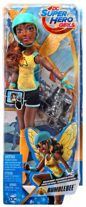DC Super Hero Girls Roller Derby Bumblebee 12-Inch Doll