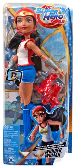 DC Super Hero Girls Roller Derby Wonder Woman 12-Inch Doll