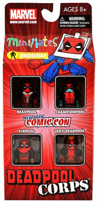 Marvel Minimates Deadpool Corps Exclusive Minifigure 4-Pack