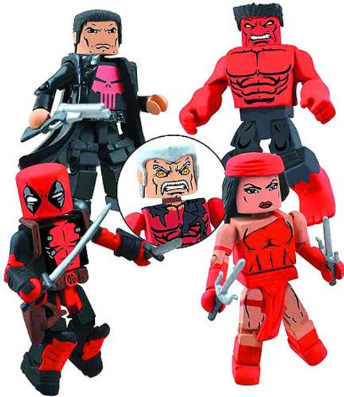 Marvel Minimates Thunderbolts Minifigure 4-Pack