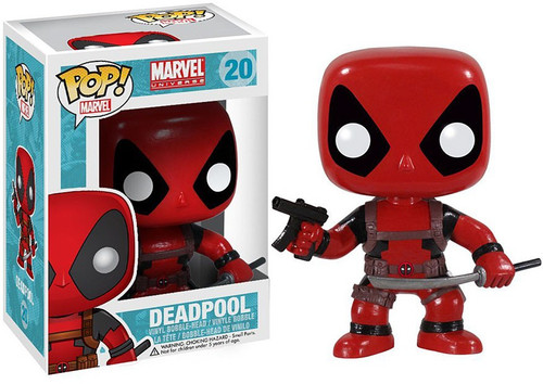 Funko Marvel Universe POP! Marvel Deadpool Vinyl Bobble Head #20 [Damaged Package]