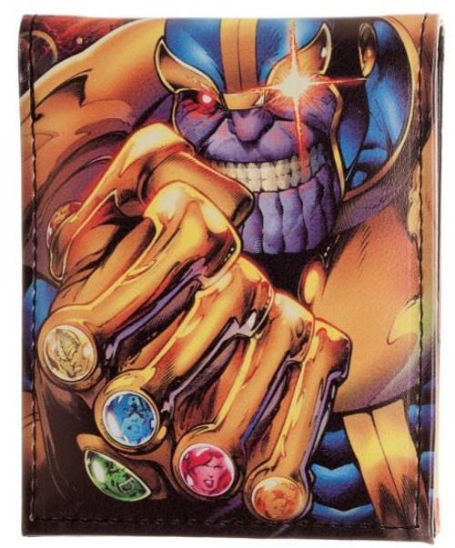 Marvel Punisher Thanos Bi-Fold Wallet
