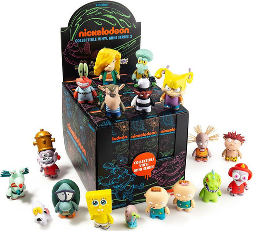 Nickelodeon Vinyl Mini Figure Nick 90's Series 2 3-Inch Mystery Box [24 Packs]