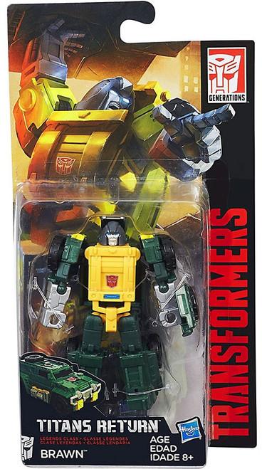 Transformers Generations Titans Return Brawn Legend Action Figure [Damaged Package]