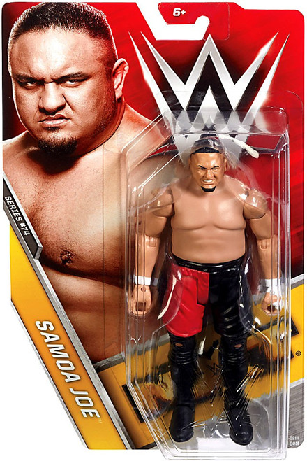 WWE Wrestling Series 74 Samoa Joe Action Figure [Damaged Package]