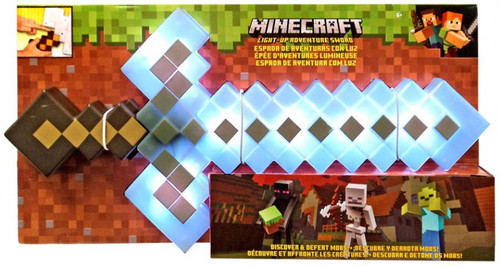 Minecraft Light-Up Adventure Sword Roleplay Toy