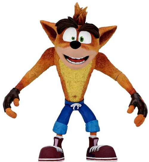 NECA Crash Bandicoot Action Figure