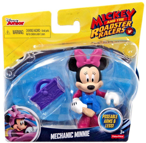 Fisher Price Disney Mickey & Roadster Racers Mechanic Minnie Action Figure