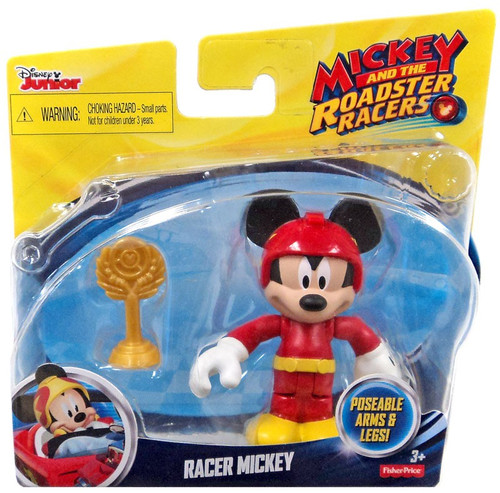 Fisher Price Disney Mickey & Roadster Racers Racer Mickey Action Figure