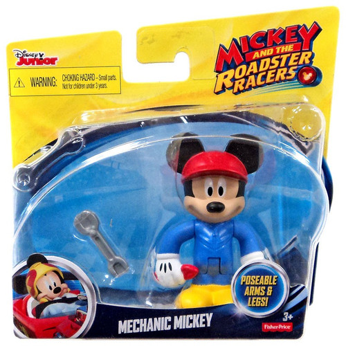 Fisher Price Disney Mickey & Roadster Racers Mechanic Mickey Action Figure