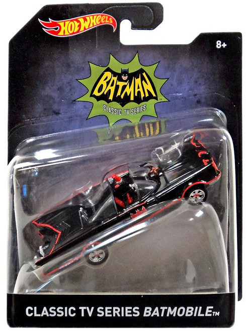 Hot Wheels Batman Classic TV Series Batmobile Diecast Car [2018]